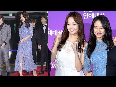 Song Ji Hyo The Blue Mermaid and Running Man Funny At SBS Entertainment Award 2017