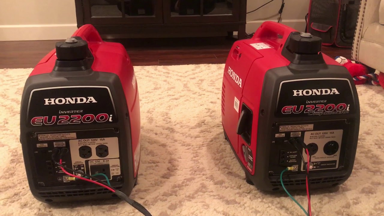 Cudowna Honda Generator EU2200i Review - YouTube YK45