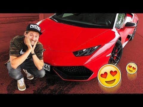 10 Leute reagieren auf 'meinen' Lamborghini!