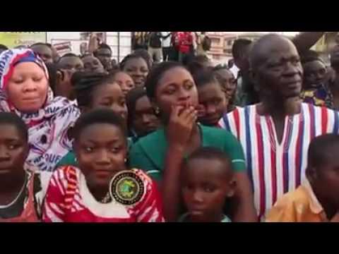 Brong Ahafo Reg Tour  NPP mega thanksgiving rally in Sunyani