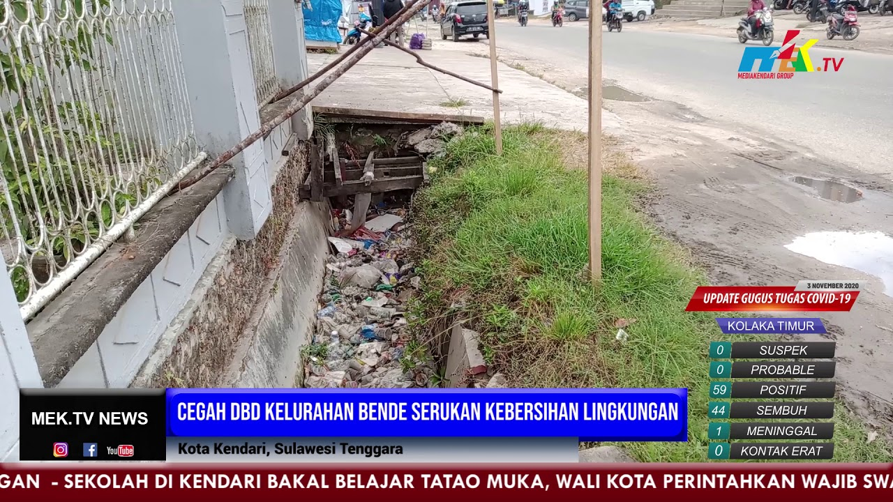 Cegah DBD Kelurahan Bende Serukan Kebersihan Lingkungan