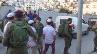Jewish settlers attack Palestinian families in Hebron