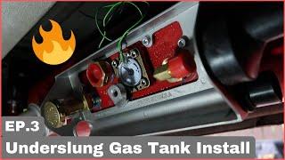Gas-It Underslung Tank Install | Ep3 | Sprinter Conversion
