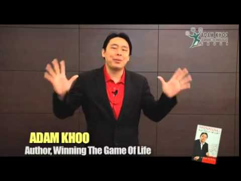 Adam Khoo - 'Let Emotions Serve You And Not Enslave You'