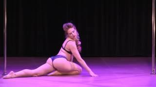 2017 US Pole Dance Championship Novice Artistic - Cristi Nicole