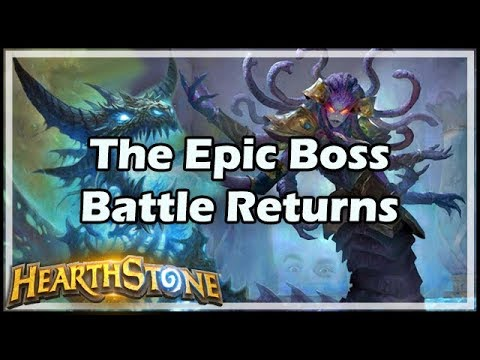 [Hearthstone] The Epic Boss Battle Returns - Tavern Brawl #140
