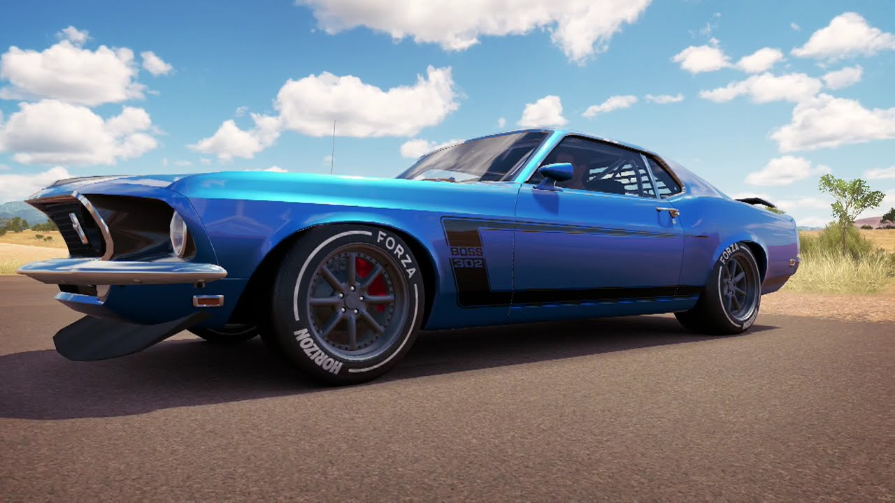 Forza Horizon Car Builds And More Ford Mustang Boss He