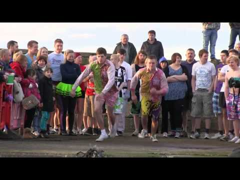 Burghead Harbour Swim 2012