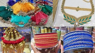 Cheap & Best Tassle,Lace and Patches Collections//RasikalamRusikalam