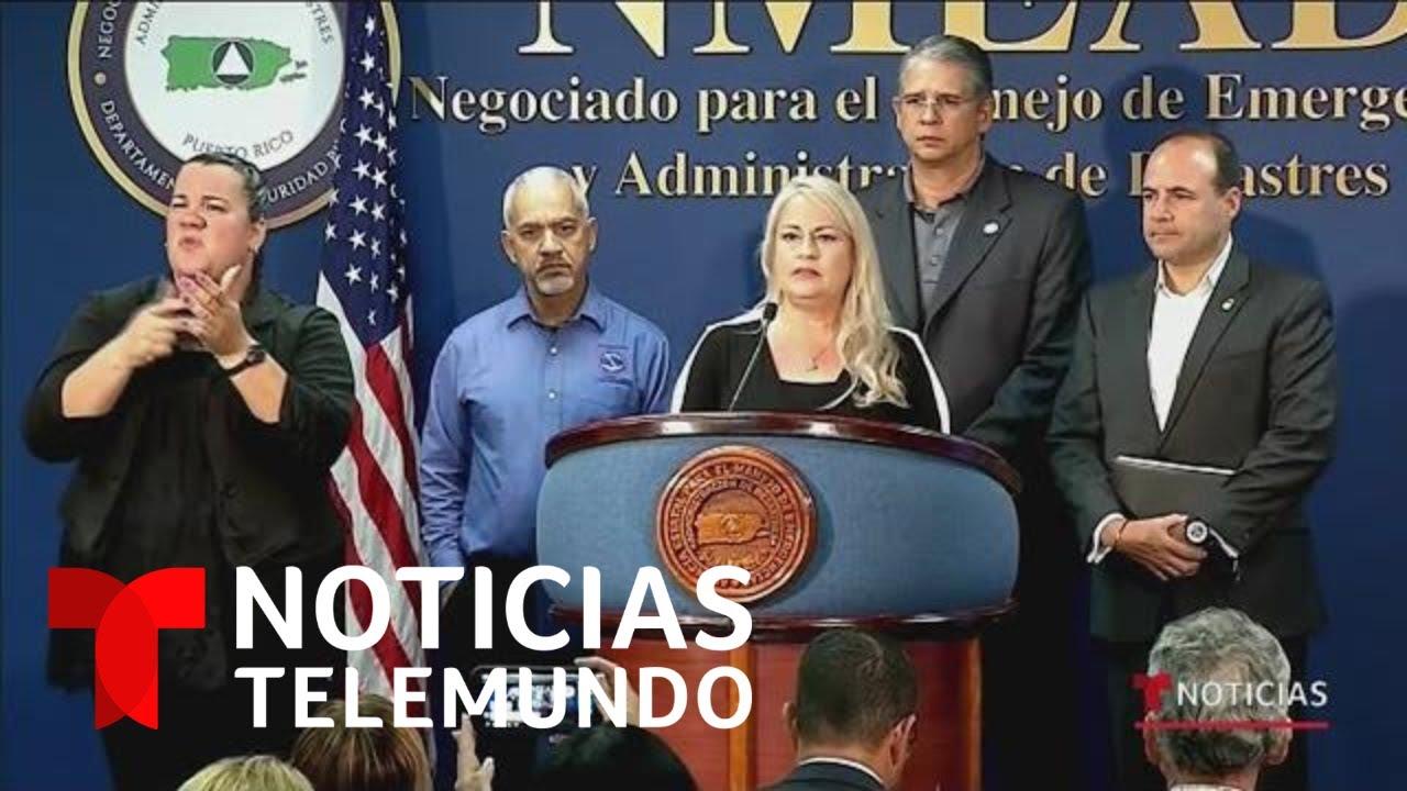 Puerto Rico Establece Toque De Queda Para Evitar La Propagacion De Covid 19 Noticias Telemundo Youtube