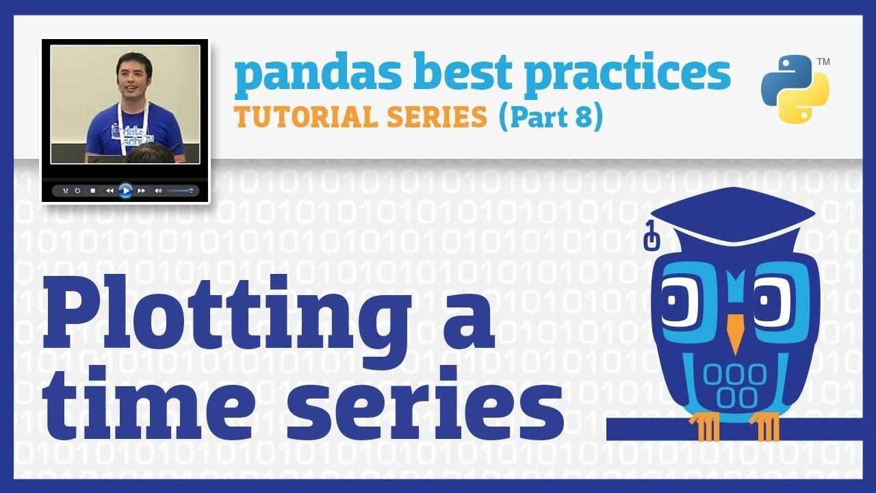 pandas best practices (8/10): Plotting a time series