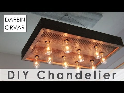 Build Your Own Old-Fashioned Looking Chandelier For About $40