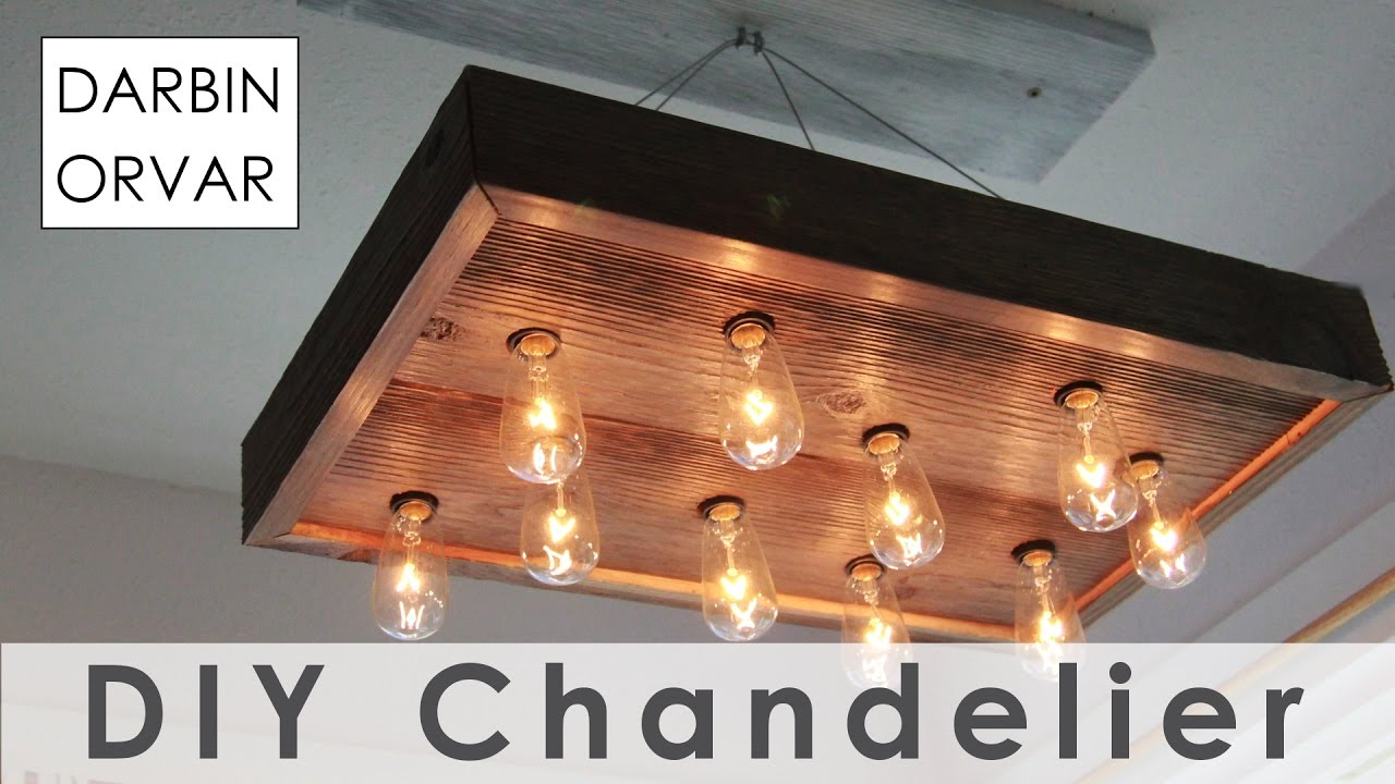 Diy string light chandelier for 40 youtube diy string light chandelier for 40 arubaitofo Images