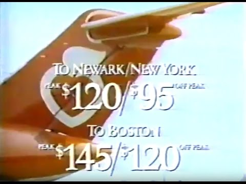 New York Air Commercial, 1984