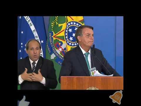 Pronunciamento COPA AMERICA NO BRASIL + Combustíveis E Impostos             olhocerto