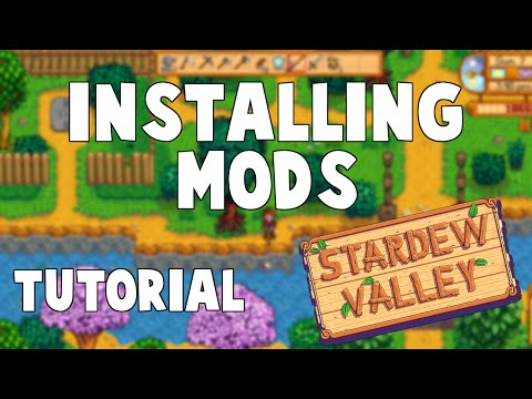 Stardew Valley   How To Install Mods (Updated Tutorial) (XNB Files)