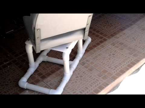 Inflatable Boat Homemade Seat #2