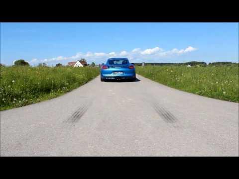 speedART Sport-Klappen-Auspuff für 981 Cayman und Boxster