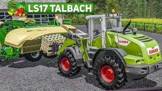LS17 Talbach #11: Raus aufs Feld - DRESCHEN und Ballen pressen! | Landwirtschafts Simulator 2017