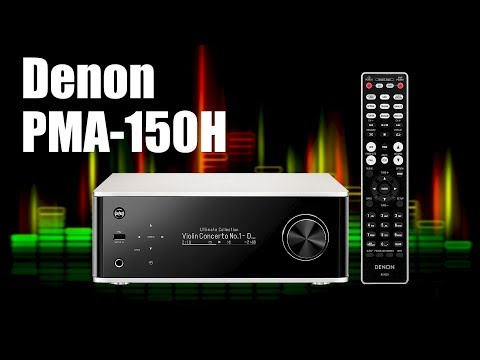 Denon PMA-150H Review | weitaus mehr als nur schön...