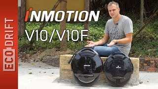 Обзор Inmotion V10 / V10F часть 1 | Revisar Inmotion V10F / V10 parte 1