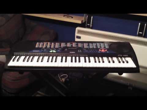Casio CTK-495 Keyboard 100 Demonstration Songs Part 1/5 Songs 001 to 021