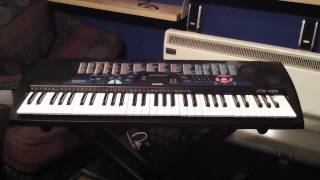 Casio CTK-495 Keyboard 100 Demonstration Songs Part 1/5 Songs 001 to 021