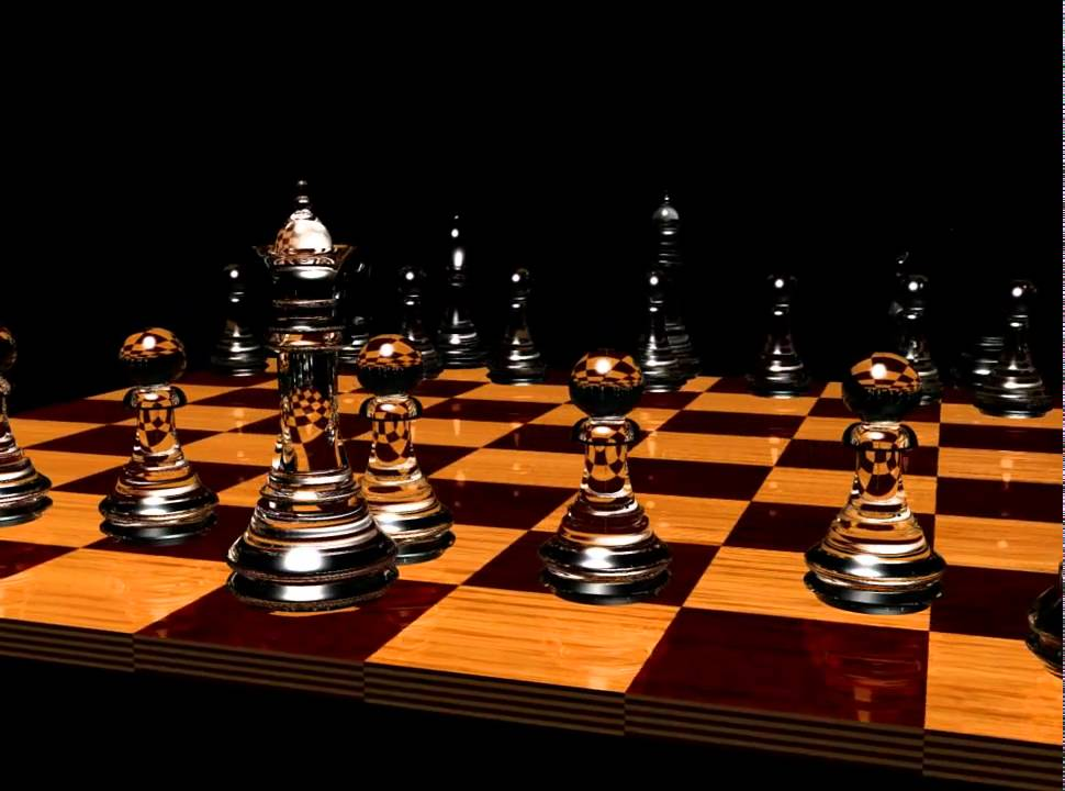simple 3ds max glass Chess set YouTube
