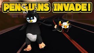 PENGUINS INVADE JAILBREAK! (ROBLOX Jailbreak)