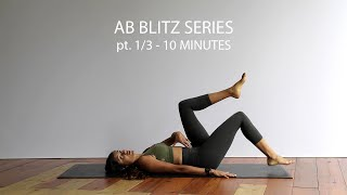 AB WORKOUT SERIES PT. 1/3 | AB WORKOUT AT HOME | 10 MINUTES | CORE STRENGTH EXERCISES | FLAT TUMMY