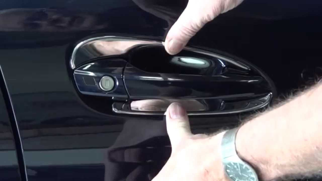 Car Shine How To Install W204 C204 C Class Chrome Door
