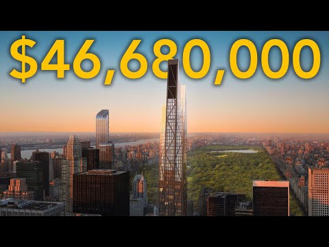 Touring a $46,680,000 NYC Apartment with the Best Views of Central Park!