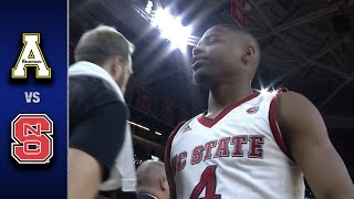 NC State vs. Appalachian State Men's Basketball Highlights (2016-17)