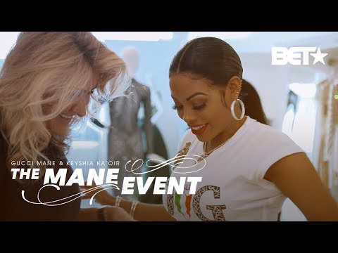 Uh-Oh, Is Keyshia's Waist Too Snatched For Her Dress Fitting? | The Mane Event