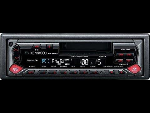 Автомагнитола Kenwood KRC-30