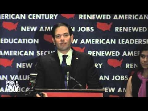 Marco Rubio suspends presidential campaign