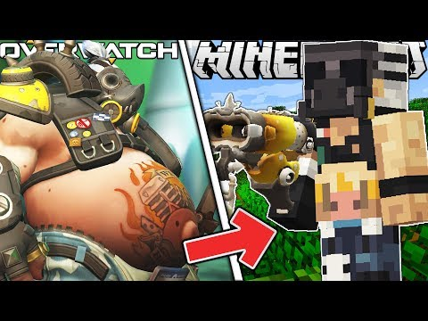OVERWATCH IN MINECRAFT!? NEW UPDATE WITH NEW HEROES!