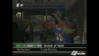 Get On Da Mic PlayStation 2 Gameplay - On the streets