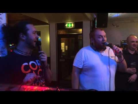 Without me - Karaoke @The Kestrel - 2015 - Jim & Smudge
