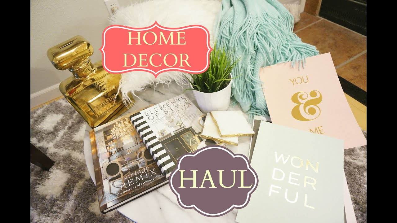 Home decor haul homegoods tj maxx hobby lobby amazon for Home decorations amazon