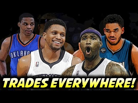 Should The Thunder Trade For Rudy Gay? DeMarcus Cousins to Minnesota? | Day 34 Recap