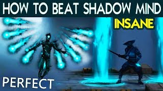 Shadow Fight 3. Defeat Shadow Mind with PERFECT on INSANE. Tactics and Best Shadow Abilities.