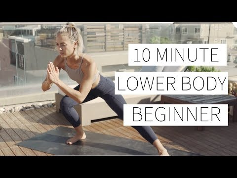 10 MINUTE LOWER BODY BEGINNER WORKOUT Lower body workout for beginners | Dr. LA Thoma Gustin