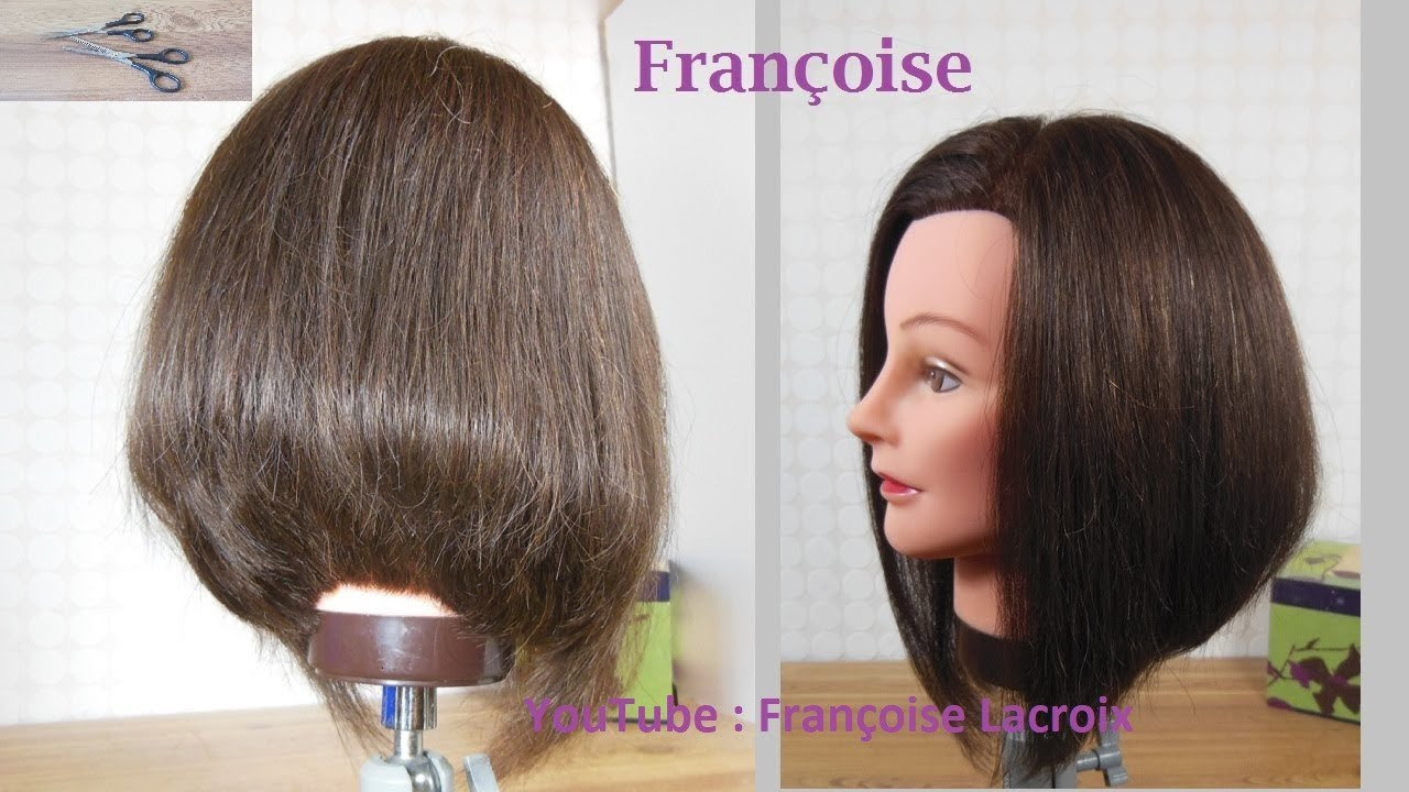 2 Coupe Cheveux Carré Plongeant Dégradé Graduated Layered Bob