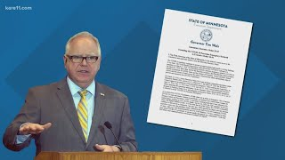 Walz keeps his emergency powers for now