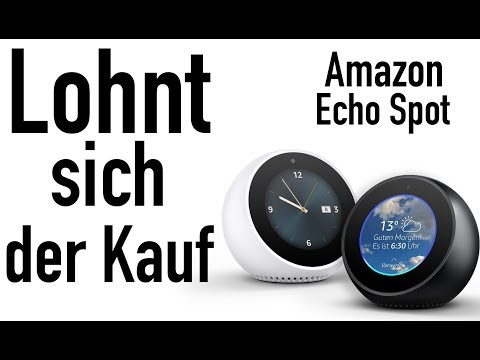 amazon echo vs echo dot was lohnt sich mehr doovi. Black Bedroom Furniture Sets. Home Design Ideas