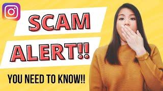 Gambar cover SCAM ALERT! Instagram influencer and brand ambassador SCAM (2018)
