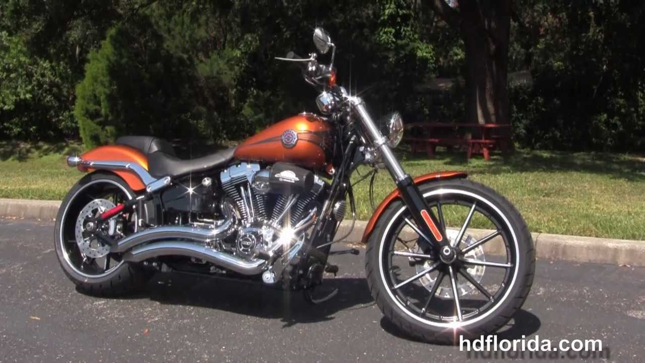 New 2014 harley davidson softail breakout motorcycles for sale youtube