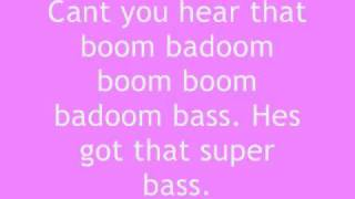 Nicki Minaj - Super Bass lyrics