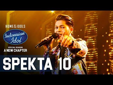 MARK – LEAVE THE DOOR OPEN – SPEKTA SHOW TOP 4 – Indonesian Idol 2021